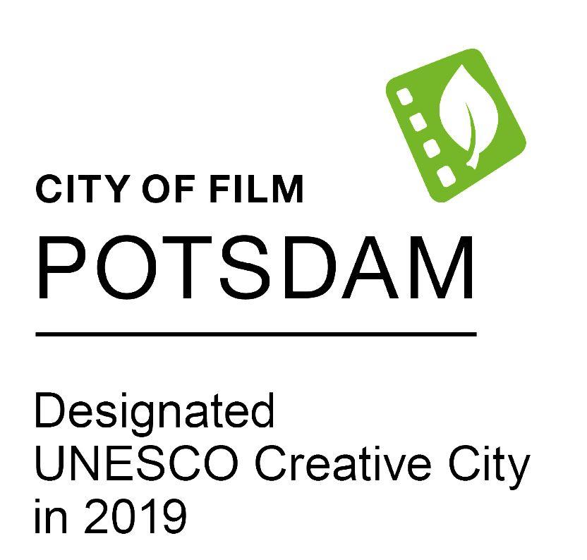 Logo Unesco Creative City of film Potsdam,