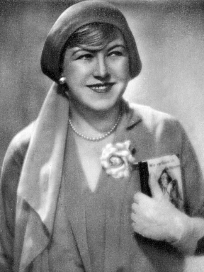 Porträt der Schauspielerin Ida Wüst