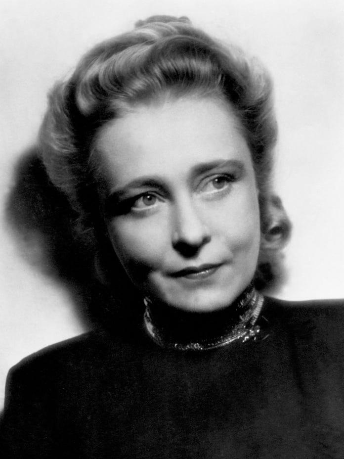 Starporträt der Schauspielerin Käthe Haack