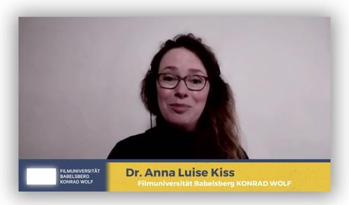 Screenshot von Anna Luise Kiss