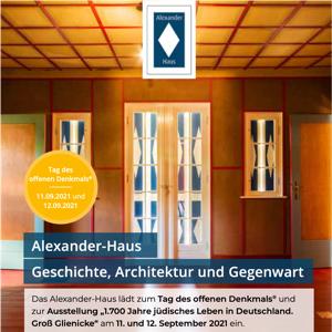 Flyer Alexanderhaus 1